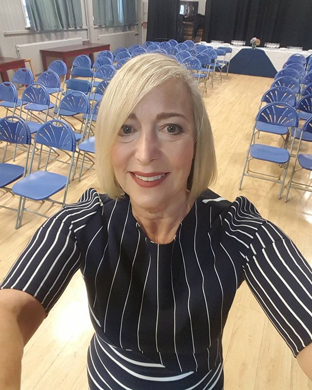 At Ryde School Isle of Wight setting up for my talk to parents on understanding social media and how it can affect your children. Tomorrow is my talk to years 9 and 10 on positive body image and social media