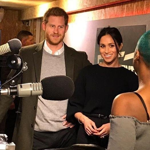 Enjoyed chattimg to @andrewpeach @bbcradioberkshire 7.55am this morning.  about Megan Markle and her @marksandspencer £45 sweater she wore to a Brixton radio station  that sold out instantly when people found out where it was from.