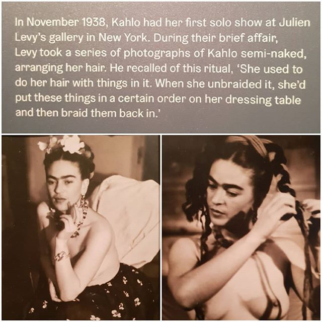 Frida Kahlo @vamuseum London.