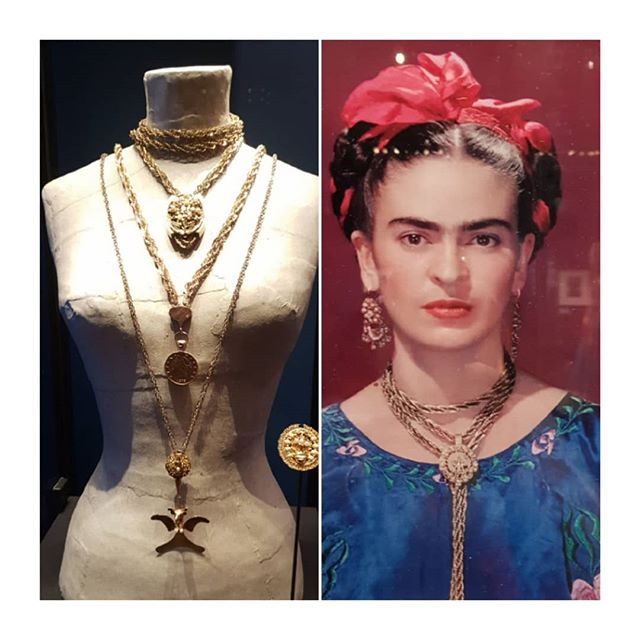"Frida Kahlo ""making herself up"" exhibition @vamuseum London."