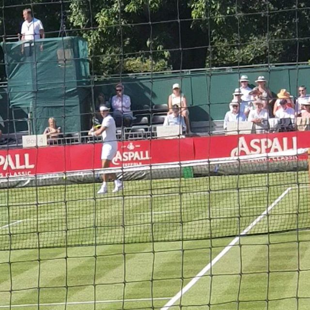 Rafael Nadal at the Aspell Tennis classic Hurlingham London. . . . . .