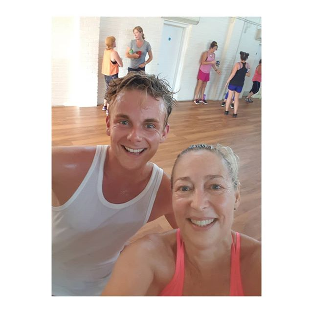 Sweaty and definitely no filters.  Thank you @jamiebuckley5234 for the best dance fitness class ever with the funniest running commentary. Laughter and dance are the best feelgood combination even in tropical temperatures and no aircon as the class is in the local community centre. . . . . .
