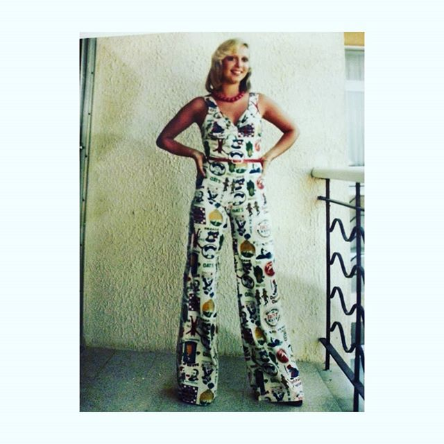 Tbt to when I was about 15 or 16 wearing a Mr Freedom jumpsuit.