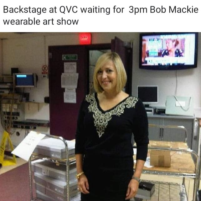 9 years ago when I was guest presenter for QVC TV shopping channel for @bobmackie fashion. . I would show how clothes can flatter and sculpt your body shape to attract the eye to your best bits and detract from those you like least. . Dressing cleverly is all about creating an illusion whatever your body shape. . Everyone can dress to be the best versions of themselves with no need to use apps or filters on their social media posts. . No celebrity I have ever dressed in all my 30 years as a celebrity stylist has had a perfect body.  We are all unique and should embrace our own individuality. . . . .