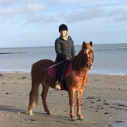 And then finally the sun came out again  A lovely horse ride along the beach with a sweet new pony Fred @sallythomas777 Some quick me-time before Christmas  . . . . .