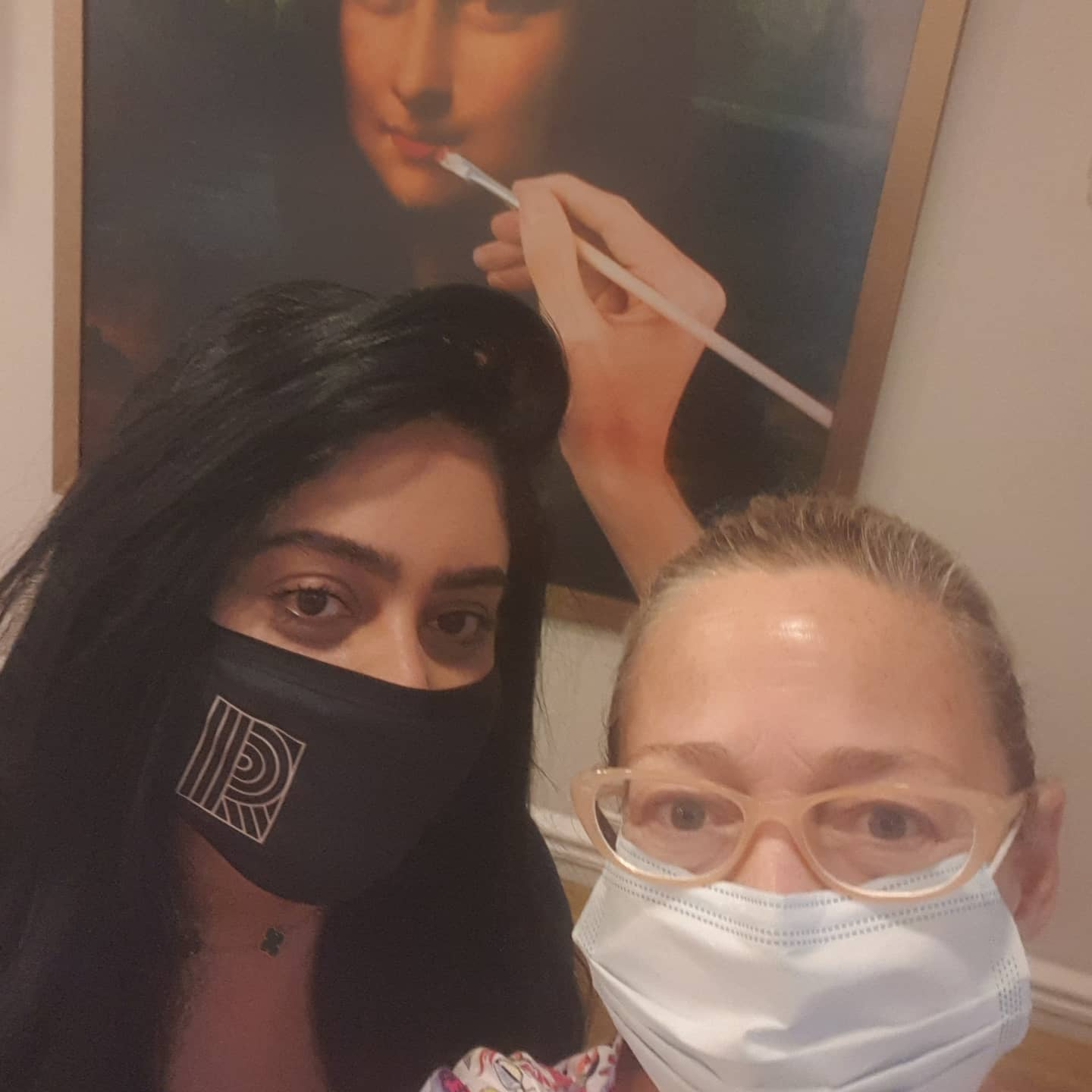 I ventured into London's West End yesterday for my first facial after 6 months.  I had been recommended to try Dr Rasha's clinic in Mayfair. . I was temperature checked on arrival, the reception staff were behind screens and wearing masks, and masks were obligatory in the waiting areas and for therapists.  . The clinic was extremely professional, clean and somewhere any new anxious client would feel completely  confident and comfortable, in these post-lockdown Covid times,  to go to be treated.  . Here I am in pic 1, all masked up, with the lovely owner- Dr Rasha aesthetics physician and clinic director,  and in  pic 2 here I am after my facial with my 65-year old happy shiny face that loved the professional tlc and pampering it had just received.  . I will be revisiting again very soon. Thank you for my lovely afternoon.  . (Btw, this isnt an ad, I only write and post about places and products that I believe in and make a difference to my life and may inspire others).  . . . @drrashaclinic